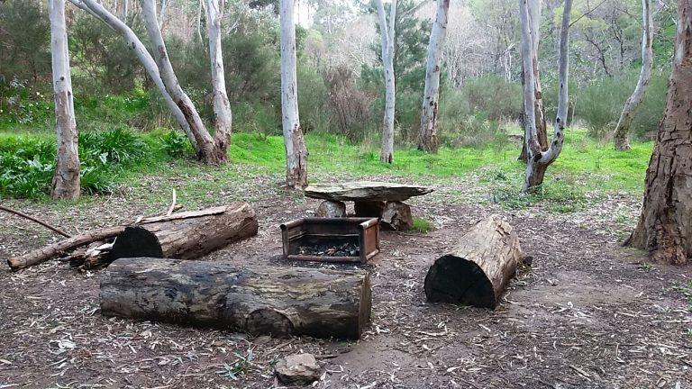 Camping in the Adelaide Hills on the Heysen Trail